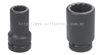 1-1/2¡¯¡¯ Dr.,¡®¡¯SAE¡¯¡¯ Standard Length Impact Sockets (12-Point)