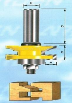 Reverse Rail and Stile Cutter-Ogee (409)