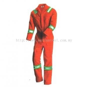 M-Safe Oil and Water Resistance Coverall