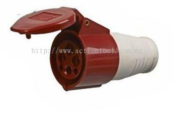 CEE 32A Weatherproof Socket - 224