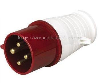 CEE 32A Weatherproof Plug - 024