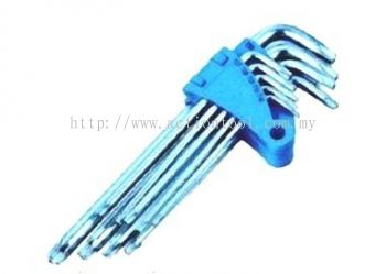 Great 9pcs Torx Hex Key Set