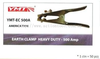 YMT Earth Clamp Heavy Duty 500Amp (America Type)