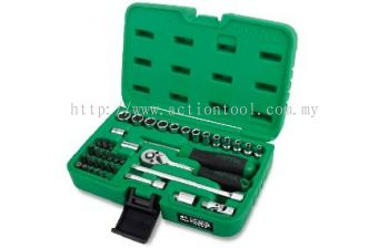 "1/4"" DR. Flank Socket Set"