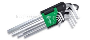 Long Type Hex Key Wrench Set