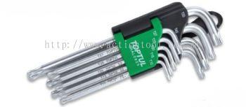 Long Type Ball End Star & Tamperproof Key Wrench Set
