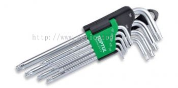 Long Type Star Tamperproof Key Wrench Set