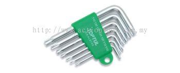 Short Type Star Key Wrench Set