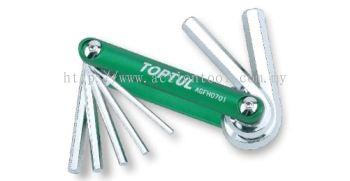 7-in-1 Folding Hex Key Set