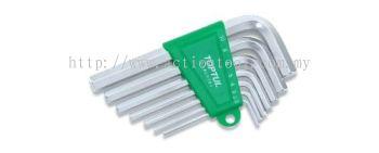 Short Type Hex Key Wrench Set