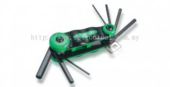 7-in-1 Foldable Hex Key Wrench Set