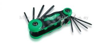 8-in-1 Foldable Star Key Wrench Set