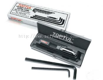 Extra Long Type Hex Key Wrench Set