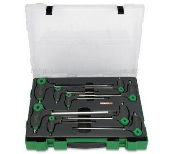 L-Type Two Way Star & Tamperproof Key Wrench Set