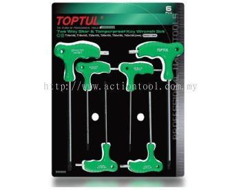 Two Way Star & Tamperproof Key Wrench Set