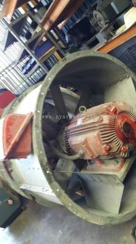 55KW/75HP Multi Speed Three Phase Blower Motor for Fire Fighting