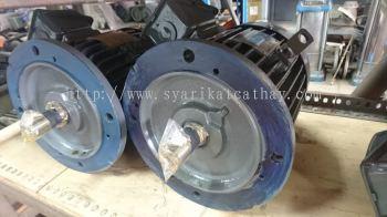 Teco 1 - 100hp three phase B5 flange mounted induction motor