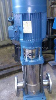 Lowara Stainless Steel Pump 4KW SV1604F40, 3KW SV416F30, 2.2KW SV804F22, 5.5KW SV6002S55, 5.5KW PXR1