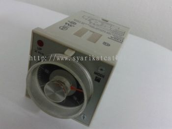 Omron Timer H3BA 0.5S to 100H  100/110/120 VAC