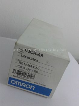 Omron Timer H3CR-A8  1.2S to 300H  100 to 240VAC  100 to 125VDC