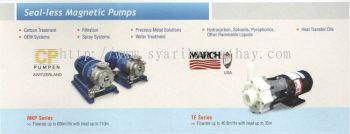Seal-less Magnetic Pump CP / March