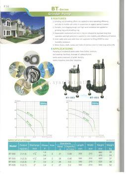 Sonho BT-Series Grinder Pump