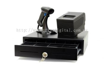 PACKAGE A: Pos system machine Cashier All business hardware Read