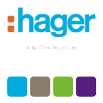 Hager ELCB 4P, 40A 100mA CE440B Malaysia
