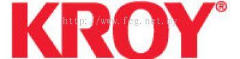 "Kroy Cartridge K2000 Black On Clear 1"" X 40' Malaysia"