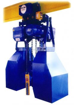 Large Capacity Electric Chain Hoist Come with Motorised Trolley