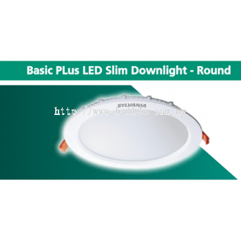 SYLVANIA Basic PLus LED Slim Downlight - Round