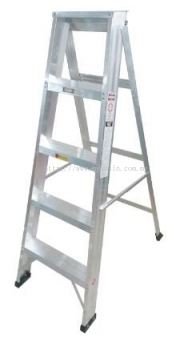 Aluminium Single Sided A Shape Step Ladder