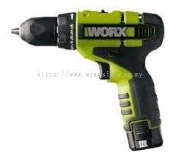 WORX WU-128.2 10 mm 12V Cordless Drill/ Driver
