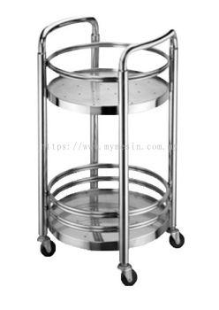 S/Steel Trolley&Table Beverage cart