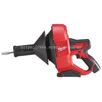 MILWAUKEE M12 BDC6 COMPACT DRAIN CLEANER WITH SPIRAL DIAMETER 6 MM