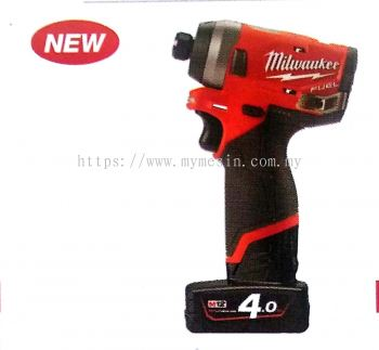 MILWAUKEE M12 FID SUB COMPACT 1/4 HEX IMPACT DRIVER