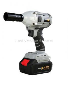 "Mark-X MKX-2012 20V 1/2"" Cordless Impact Wrench Set (Brushless)  [ Code:9516 ]"