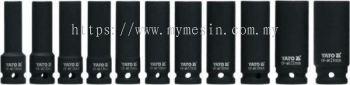 "Yato YT-1054 10-24mm 1/2"" 11pcs Deep Impact Socket Set  [ Code:9497 ]"
