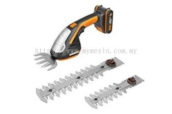 "Worx WG801E 20V Cordless 4"" Shear & 8"" Shrubber Trimmer"
