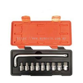 Mr Mark MK-4610M 10 pcs Socket Set