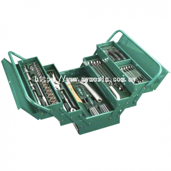 Sata 95104A-80 80pc Mechanic Tool Chest & Tray Set