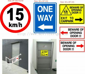 safety Signboard n Office direction signage