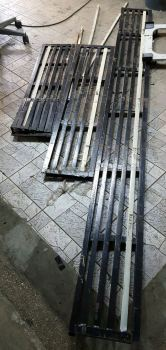 matel cover for home drainage cover or factory used ready set 3 sizes A 2540mmx260mm B 1220x280.. C 1000mmx 265mm
