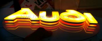 3D LED lettering made by 3D latest printer machine with sophisticated design (view for more detail)