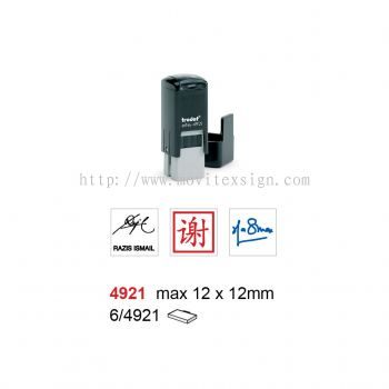 Chinese Charactor Signature Rubber Stamp 4921