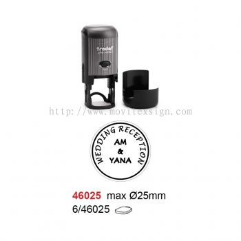 Round Chop for Receiving Goods 46025