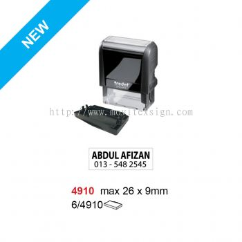 Rubber Stamp 4910