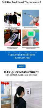 auto thermometer scanner camera quick n acuratecy