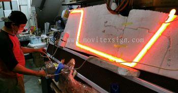 neon glass tube