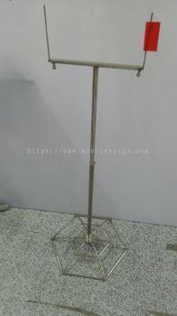 Floor Sign plate Holder (adjustable) hight